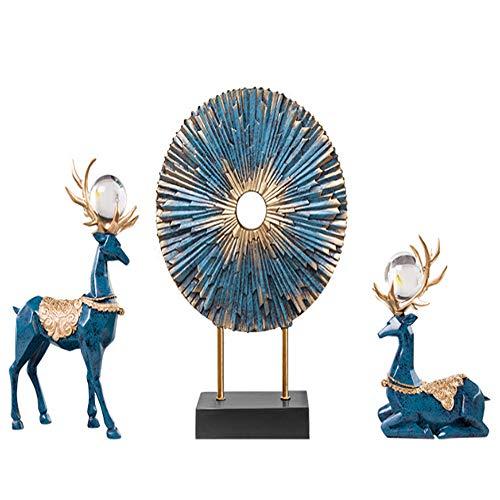 ZTBGY Weinschrank Dekorationen Nachahmung Deer Stil zu Hause eingerichtet schlankes minimalistischen Stil Reine Kunsthandwerk -
