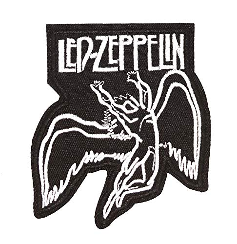 Parche Bordado Termoadhesivo Led Zeppelin 9x8cm