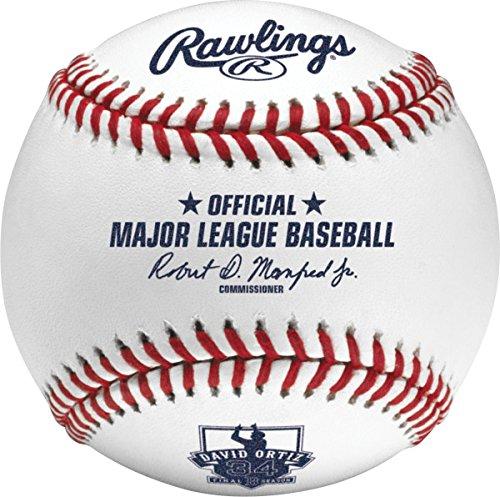 Rawlings David Ortiz Final Season Offizielles MLB Baseball in Cube Schutzhülle Display