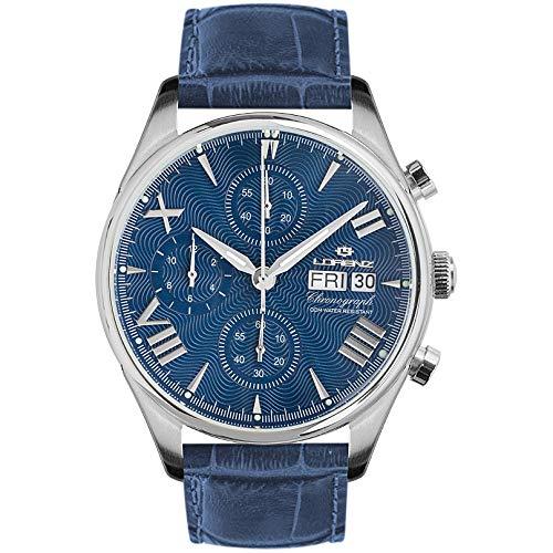 Reloj cronógrafo Hombre Lorenz 1934Trendy cód. 030110dd