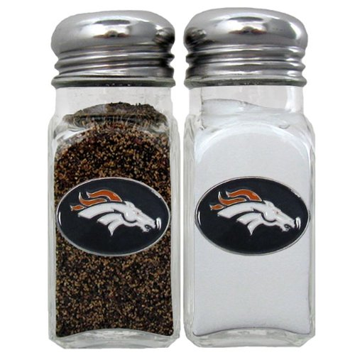 Siskiyou Gifts Co, Inc. NFL Denver Broncos Salt & Pepper Shaker Grill Shaker