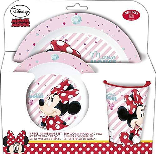 SET MICRO 3 PCS. MINNIE MOUSE - DISNEY - ELECTRIC DOLL