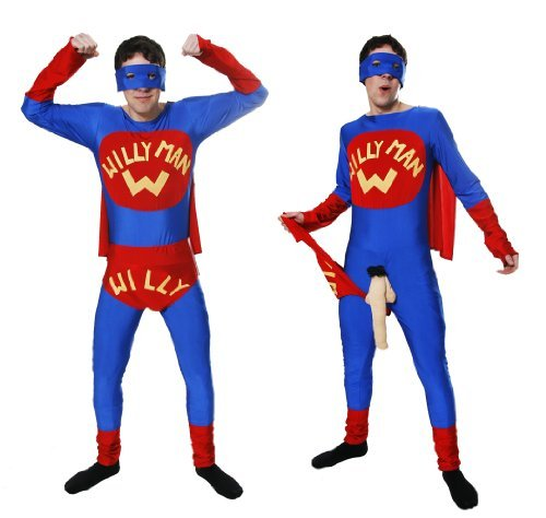 dkostüm Party-Outfit Junggesellenabschied Junggesellinnenabschied Superhelden Männertracht (Männer Superhelden)