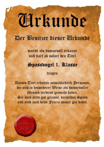 bedrucktes Karneval T-Shirt + Urkunde: Depp - coole lustige Fasching Herren Shirt Fastnacht Fun Geschenk Schwarz