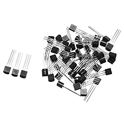 Generic 50Pcs TO-92 30V 0. 6A 2N2222A Triode Transistor NPN 2N2222 Switch Transistors One piece