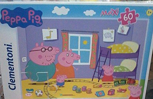 Clementoni peppa pig maxi puzzle, 24 pezzi, 24028