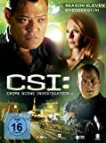 CSI: Crime Scene Investigation - Season 11.1 [Limited Edition] [3 DVDs]