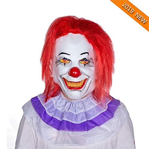 YVQO Halloween Maskerade Maske Bloody Zombie Maske Schmelzendes Gesicht Adult Latex Kostüm Walking Dead Halloween - Walking Dead Kostüm Männer