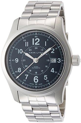 Hamilton Herren Analog Automatik Uhr mit Edelstahl Armband H70605143