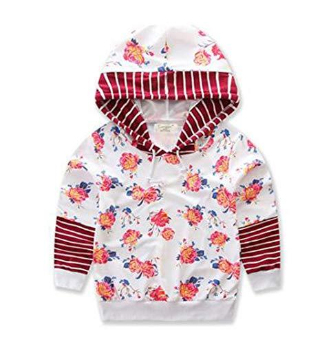 Keephen Familie Passende Tops Komfortable Kapuzenpullover Pullover Mutter Tochter Printed Sweatshirt Pullover Top