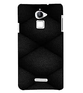 PrintVisa Leather Quilt Pattern 3D Hard Polycarbonate Designer Back Case Cover for Coolpad Note 3 Lite