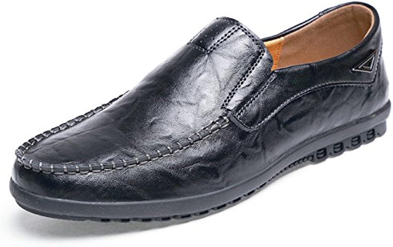 Zapatos De Hombre Slip-On Casual Transpirable Zapatos Perezosos De Verano Zapatos De Frijoles