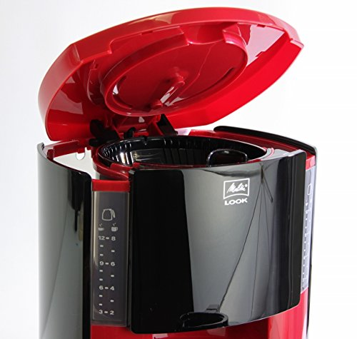 Melitta Look Therm Filter Coffee Machine - Red/ Black
