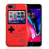 AOLVO Funda Gameboy para iPhone, Consola de Juegos Portátil Retro 3D Funda con 36 Juegos, Pantalla a Todo Color para iPhone XS/X, IPhone8 / 8 Plus, iPhone 7/7 Plus, iPhone 6 / 6Plus