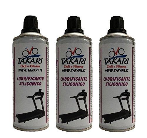 3 Lubricante spray cinta de correr 400 ml