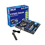 ASUS P7P55D DELUXE Mainboard Sockel Intel 1156, Intel P55, Sound, G-LAN, FW, SATAII RAID ATX