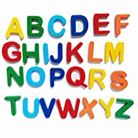 NSNSWA Magnetic Alphabet Letters Numbers and Shapes, Educational Refrigerator Magnets