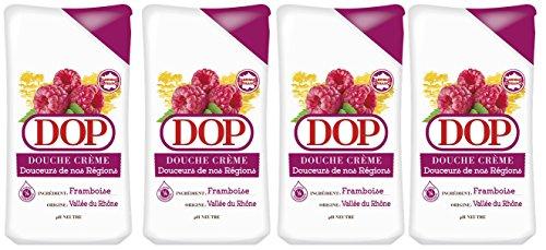 Dop Douche Crème Douceurs de nos Régions à la Framboise de la Vallée du Rhône 250 ml - Lot de 4