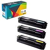 Do it Wiser ® 3 Kompatible Toner CLT-504S für Samsung Xpress SL-C1860FW CLX-4195FW CLX-4195FN SL-C1810W CLP-415 CLP-415N CLP-415NW CLP-470 CLP-475 CLX-4195N | CLT-C504S CLT-M504S CLT-Y504S