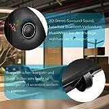 Naipo Shiatsu Ganzkörpermassagegerät – Bluetooth – 3D Surround Sound - 7