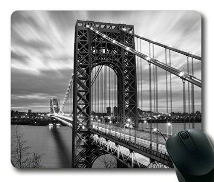 Scorpio-leo Washington pont rectangle Mouse Pad