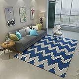 HBWS Teppich Einfache Moderne Schlafzimmer Teppich voller Shop Couchtisch Sofa Schreibtisch rechteckig Dicke Gute Qualität, billig