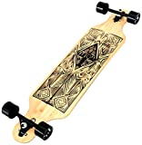 Atom Tiki Bamboo Drop Through Longboard - 40 inch (alte Version)