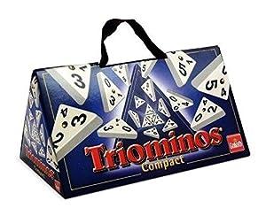 Goliath Triominos Compact - Juego de Mesa de Tipo dominó