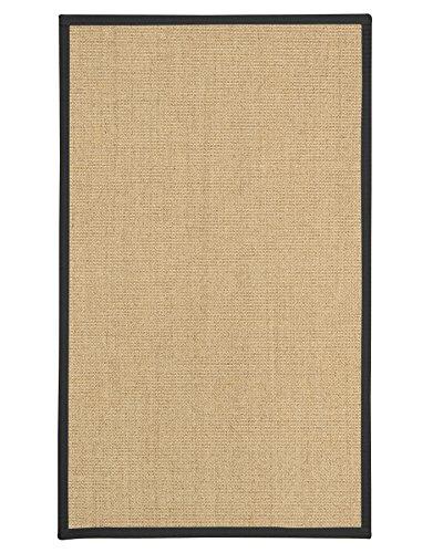 NaturalAreaRugs Luna Sisal Teppich Modern 3' x 5' beige - 3' Sisal-teppich
