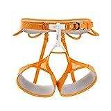 Petzl Imbracatura da arrampicata Hirundos, Arancione (Orange), S