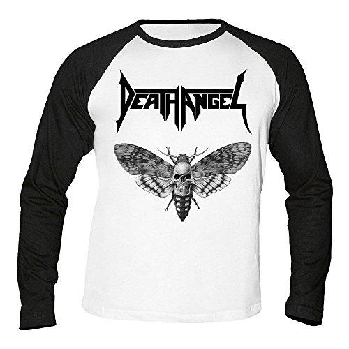 DEATH ANGEL - The Evil Divide - Baseball - Langarmshirt / Longsleeve Größe L (Angel T-shirt Death)