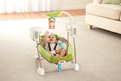 Fisher-Price modelo BBD08 Hamaca bebe electrica bosque - 4