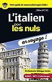 l italien pour les nuls en voyage ne