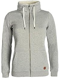 DESIRES Derby Pile Zip Women's Sweater Zip Jacket