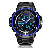 HWCOO AD1712 Männer und Frauen Sport und Freizeit multifunktionale digitale Anzeige Bewegung wasserdichte Uhr ( Color : 5 )