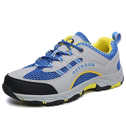 Scarpe da Uomo 2018 novità Scarpe da Trekking/Uomo Athletic Mesh Traspirante/Summer Fall Outdoor Casual Shoes (Colore : Un, Dimensione : 42)