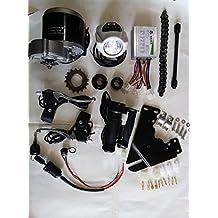 Juego de conversión eléctrica para bicicletas, motores eléctricos para bicicletas, juego de bicicletas eléctricas MY1016Z3, DC 24V, 350W, 56 a 71cm.