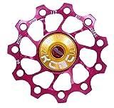 KCNC Jockey Wheel Ultra - Roldana de cambio - 11 dientes rojo 2014