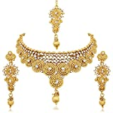Reeva Gold Plated Austrian Diamond Necklace Sets For - Best Reviews Guide
