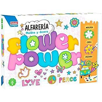 Falomir/ /Poterie Flower Power Plateau avec moules 28436