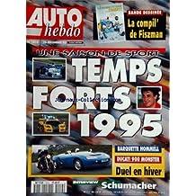 AUTO HEBDO [No 1014] du 20/12/1995 - une saison de sport - temps forts 1995 barquette hommell - ducati 900 monster - duel en hiver - interview de schumacher b.d. - la compil' de giszman