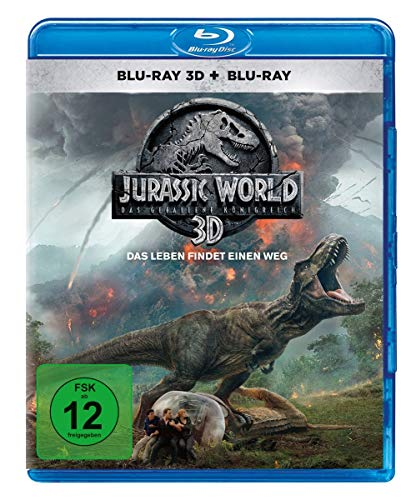 Jurassic World: Das gefallene Königreich  (Blu-ray 3D + Blu-ray) (Bose System 3 2 1)