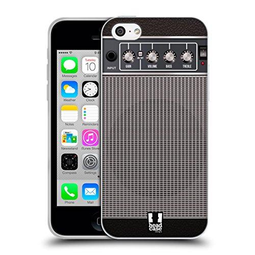 Head Case Designs Gris Camouflage Géométrique Étui Coque en Gel molle pour Apple iPhone 5 / 5s / SE Altération Grise