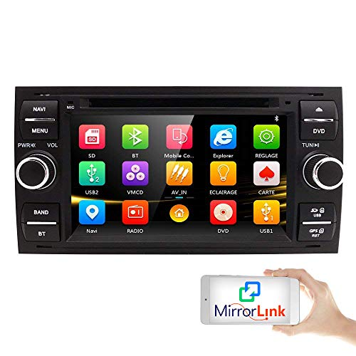 '7 Double DIN Car Stereo Radio HD DVD Reproductor CD MP3 Touch Screen estéreo...
