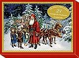 Schmuckschachtel - Der kleine Adventsschatz: 24 nostalgische Postkarten