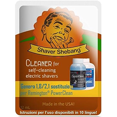 18 ricariche per cartucce Philips Norelco SmartClean - Mint elettrico
