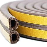Türen und fenster dichtung, zugluftstopper fenster für Risse und Lücken, 3/8-inch x 1/4-inch x 10-Feet, 4 Dichtungen