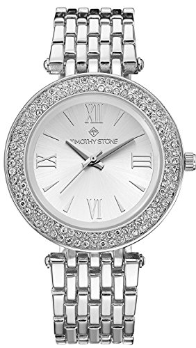 Timothy Stone Women's BURST Silver-Tone Watch