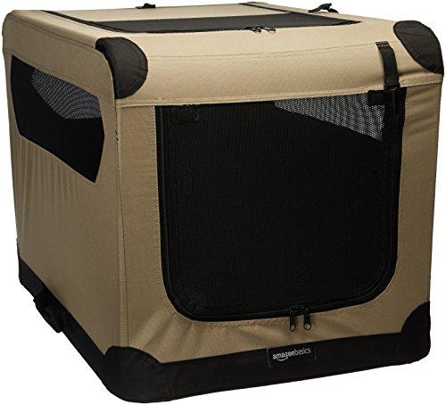 AmazonBasics - Cuccia morbida per cani, pieghevole, 76cm