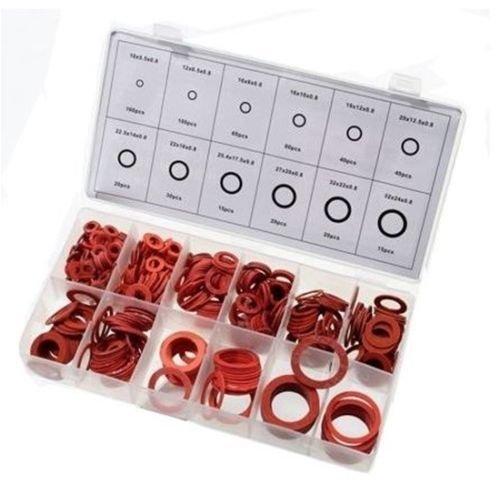 Preisvergleich Produktbild Toolzone Dichtungsringe,  Fasermaterial,  600-teiliges Set